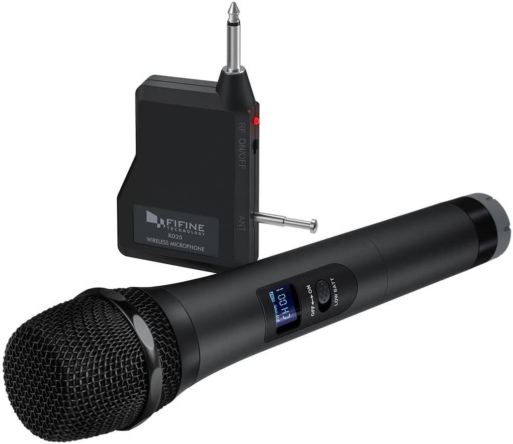 Fifine Handheld Dynamic Microphone K025