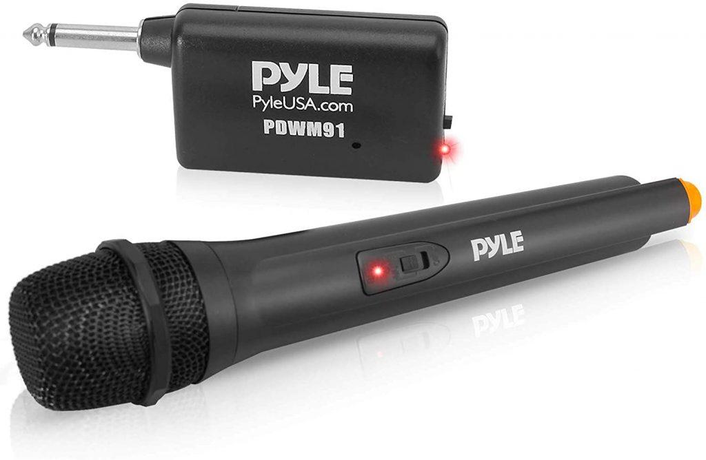 Pyle PDWM91 Portable Wireless Microphone